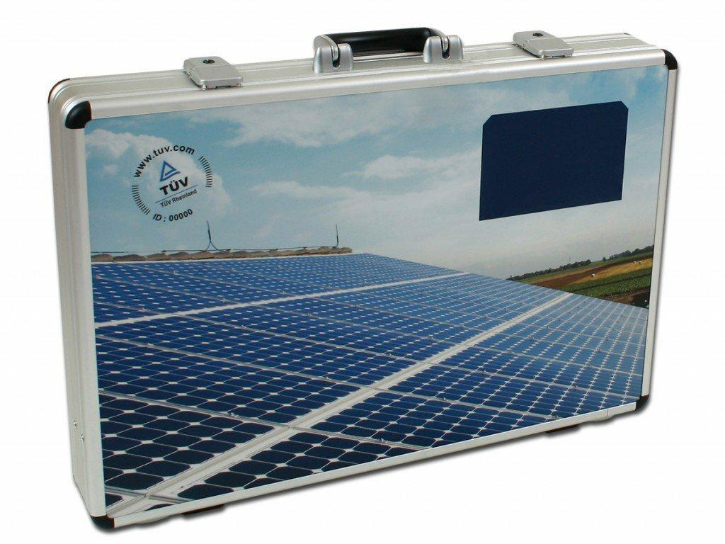Kofferlösung für Solartechnik