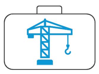 Koffer für Bauindustrie