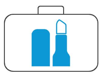 Koffer für Kosmetik & Fußpflege