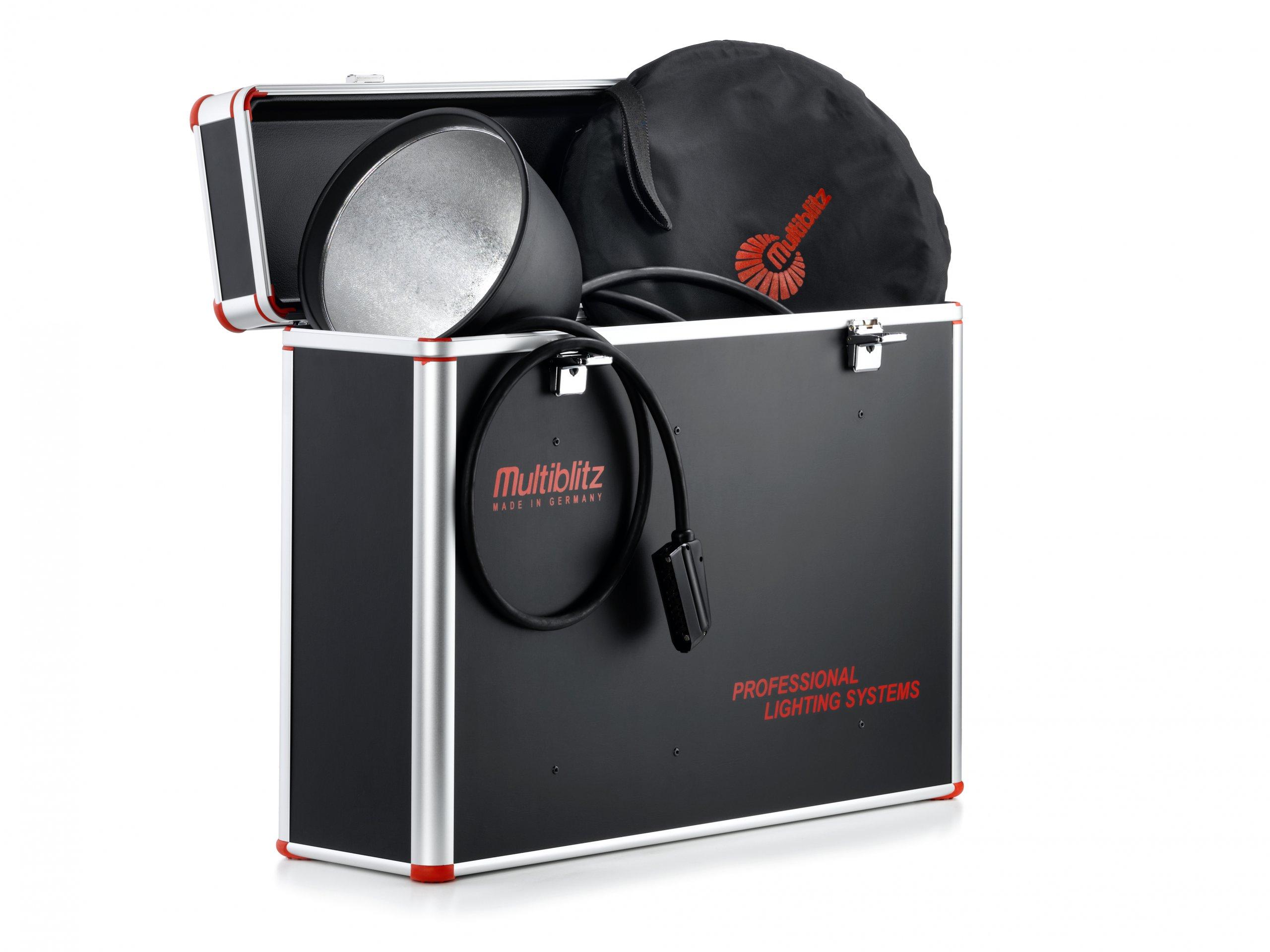 Koffer für Blitzanlage Fotograf