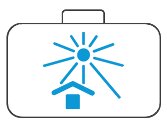 Koffer für Sonnenschutz und Sicherheitstechnik