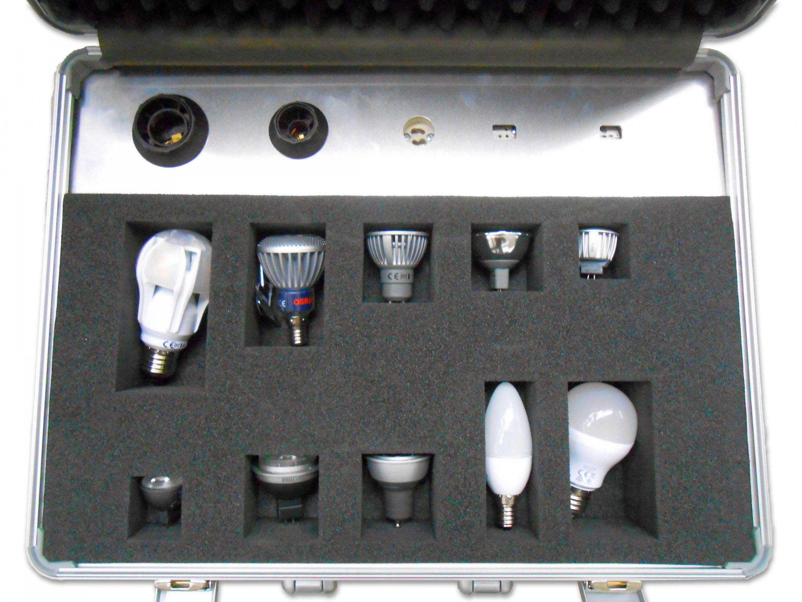 Spezialkoffer für Lichttechnik