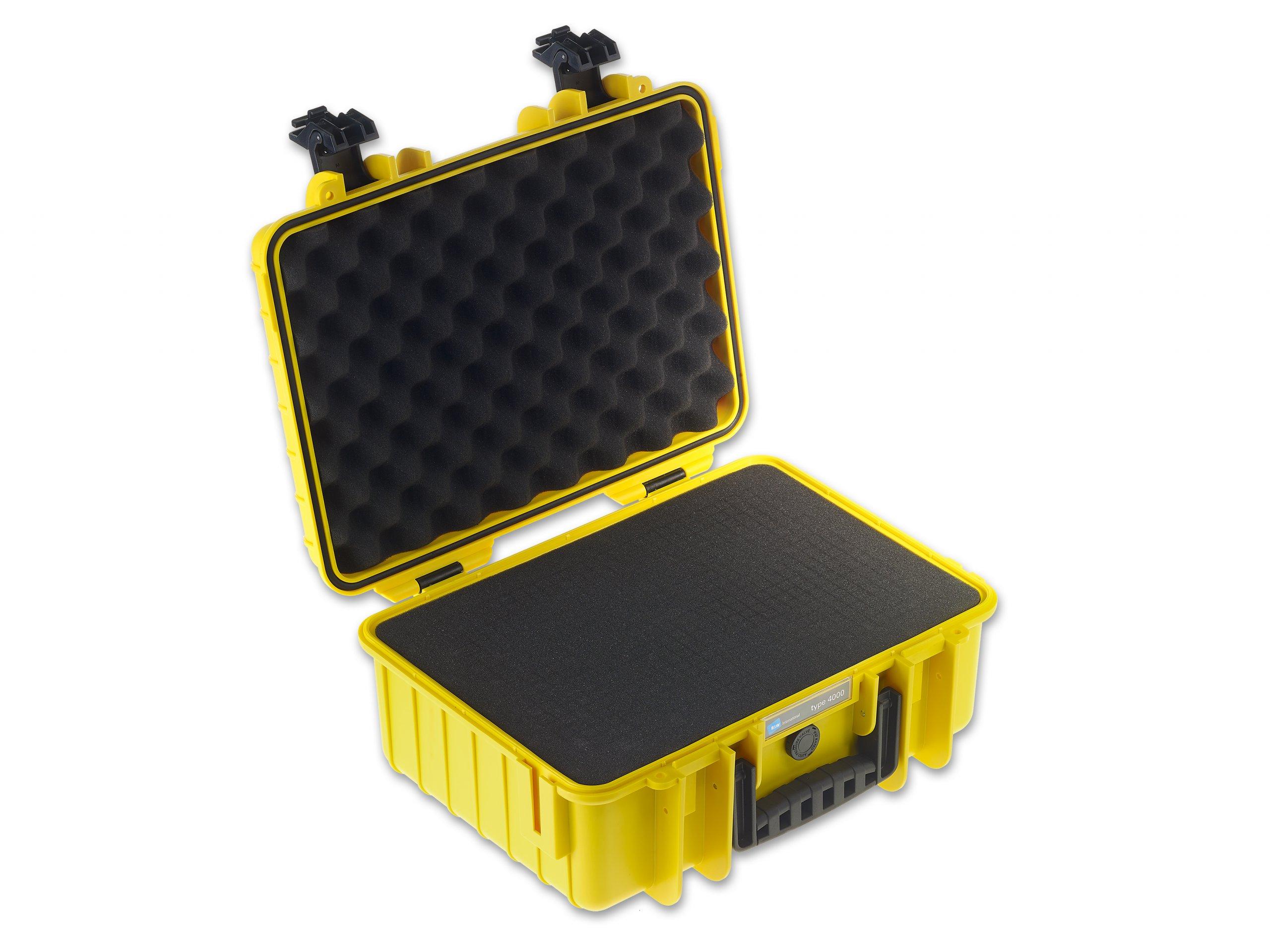 Outdoor Case Typ 4000 mit Würfelschaum