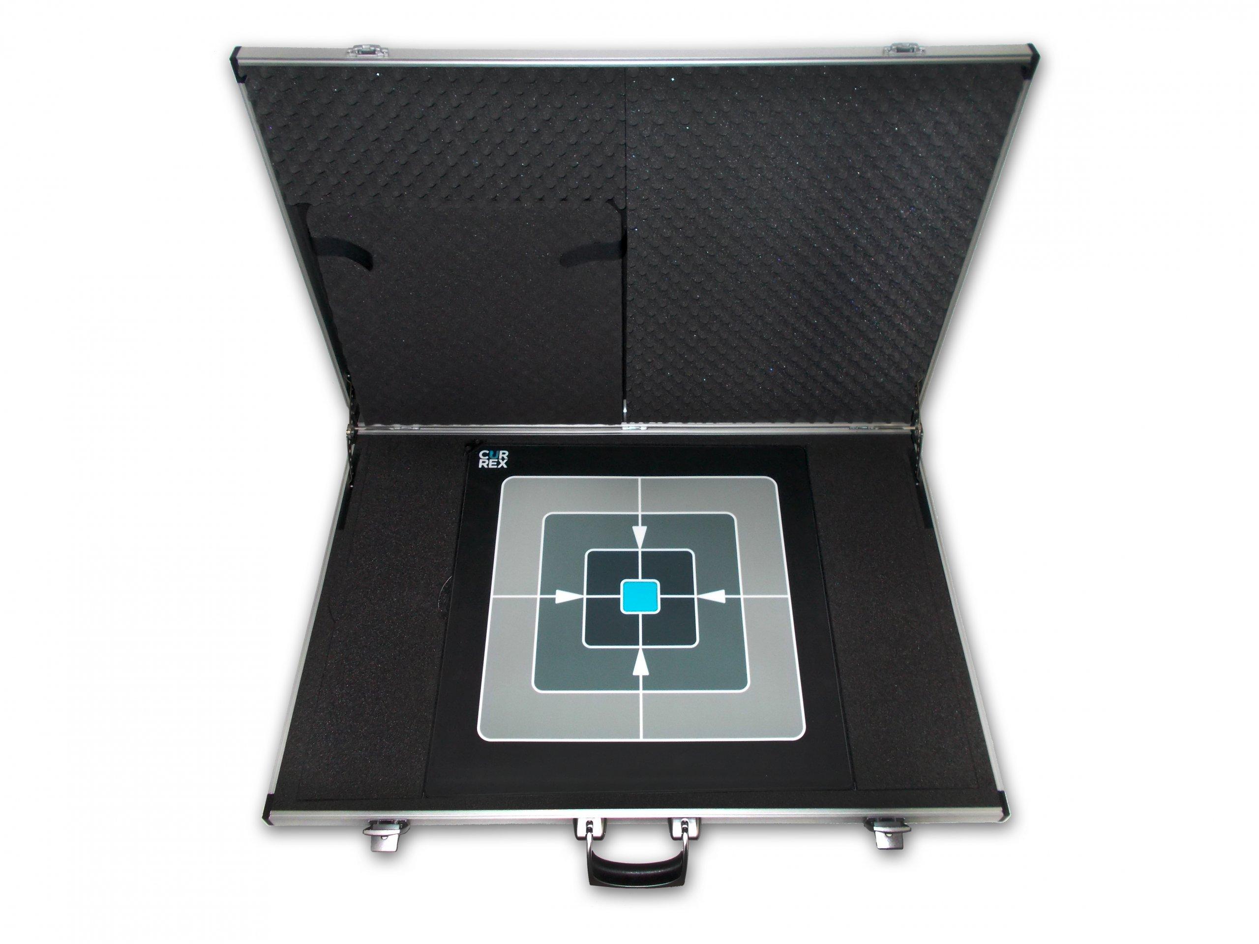 Koffer für Fußdruckanalyse