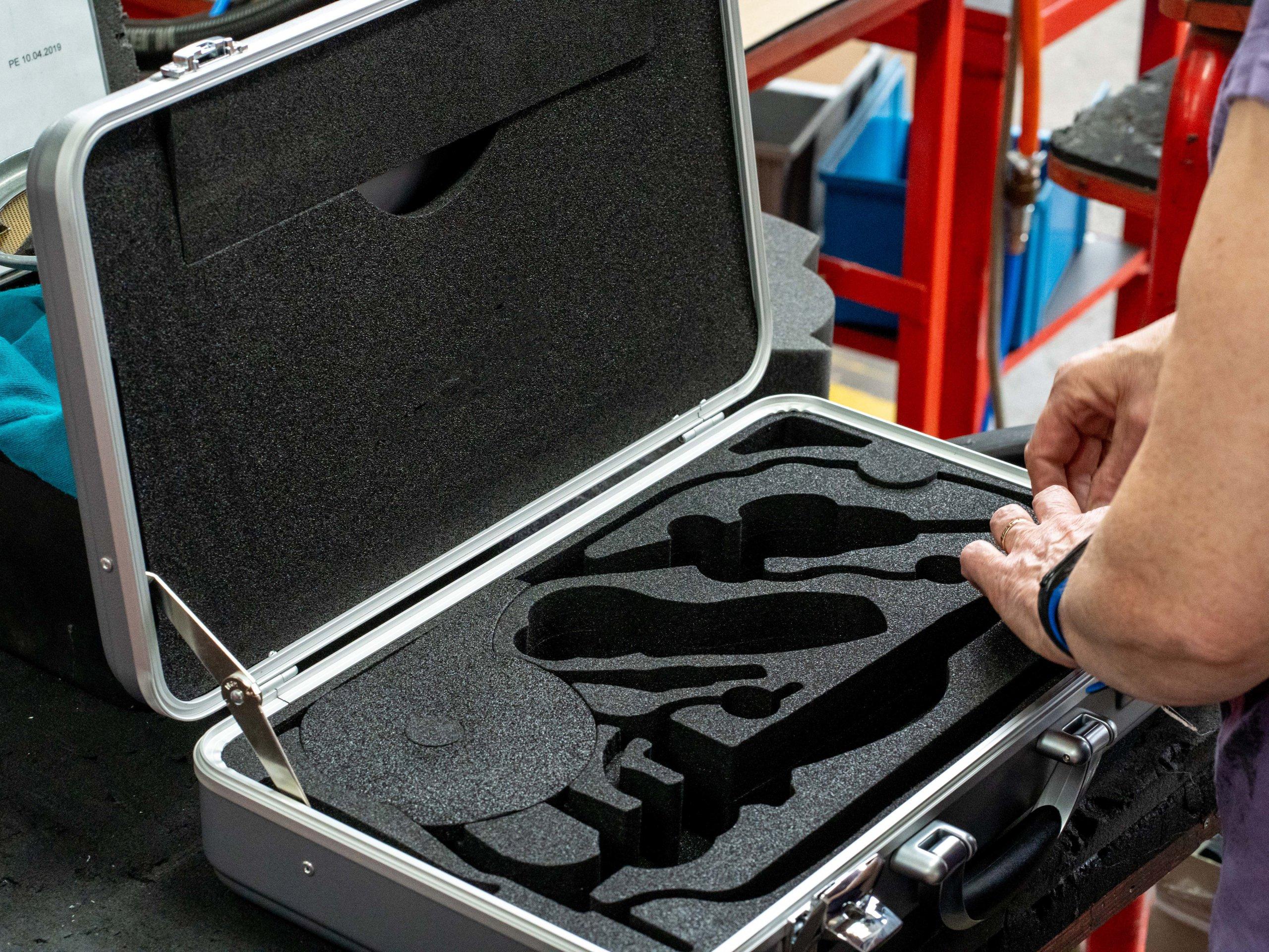 Koffergröße nach Wunsch