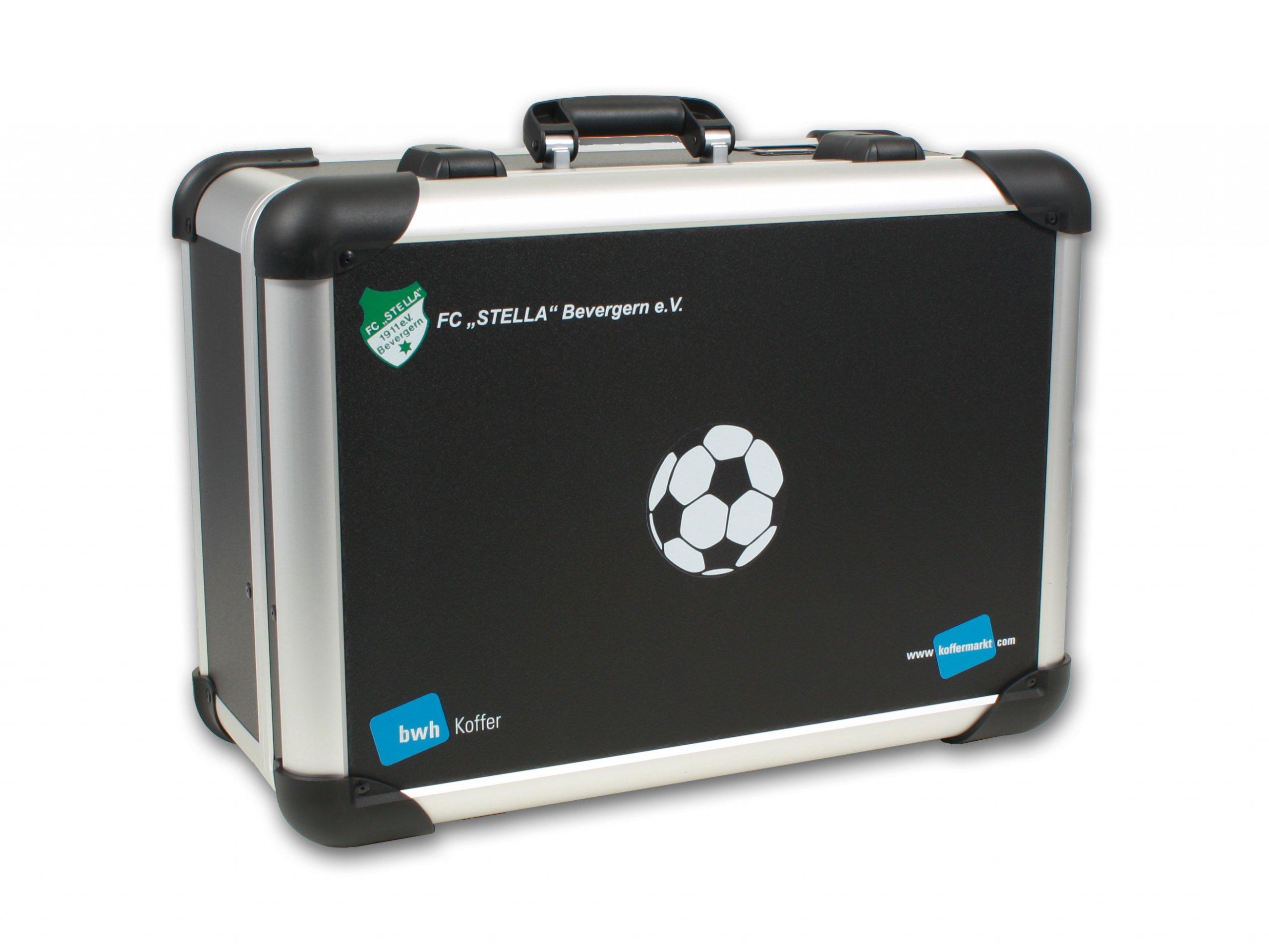 Fußballkoffer Mannschaftskoffer Transportkoffer Robust Case