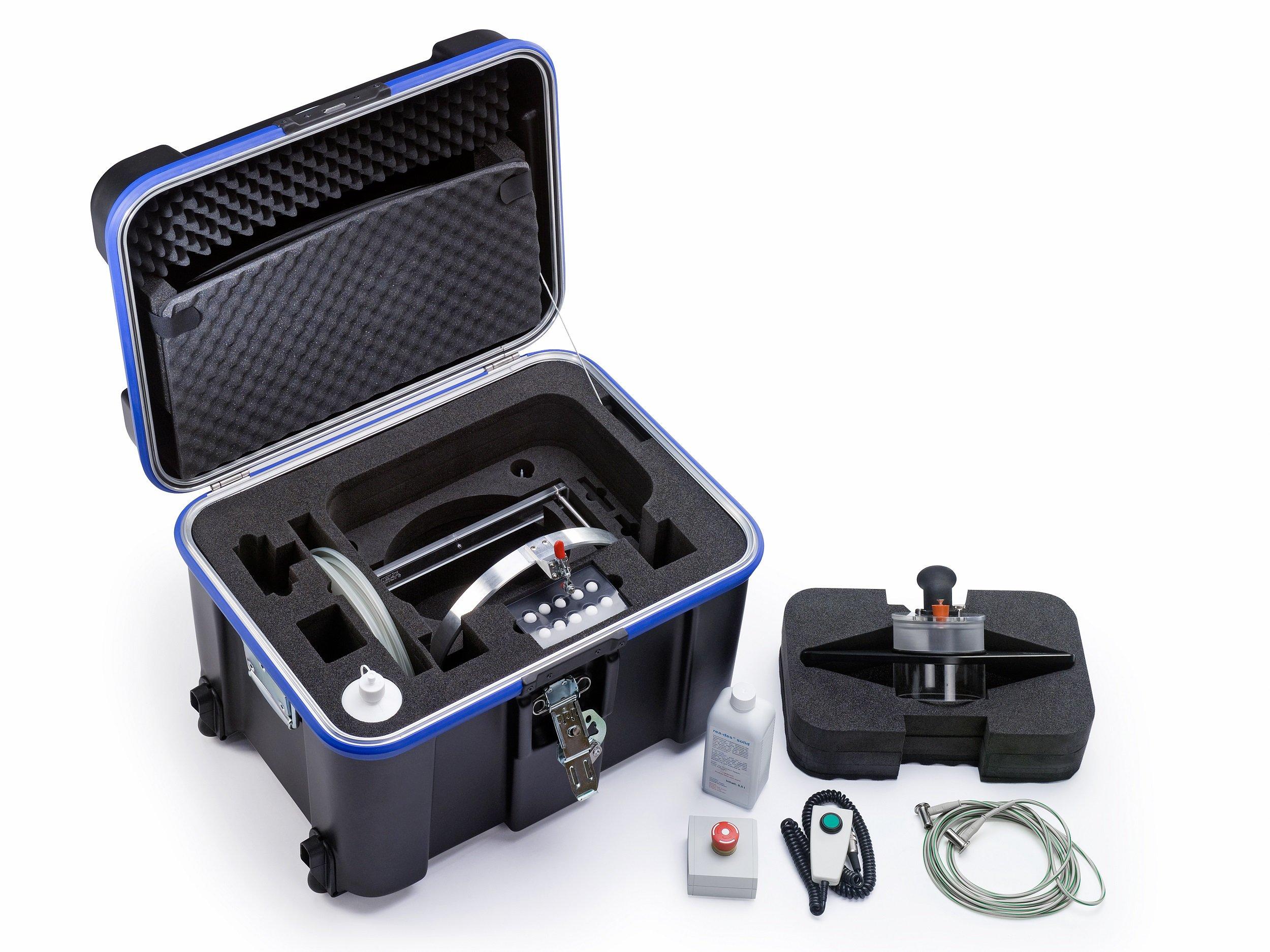 Kofferlösung für optische Geräte