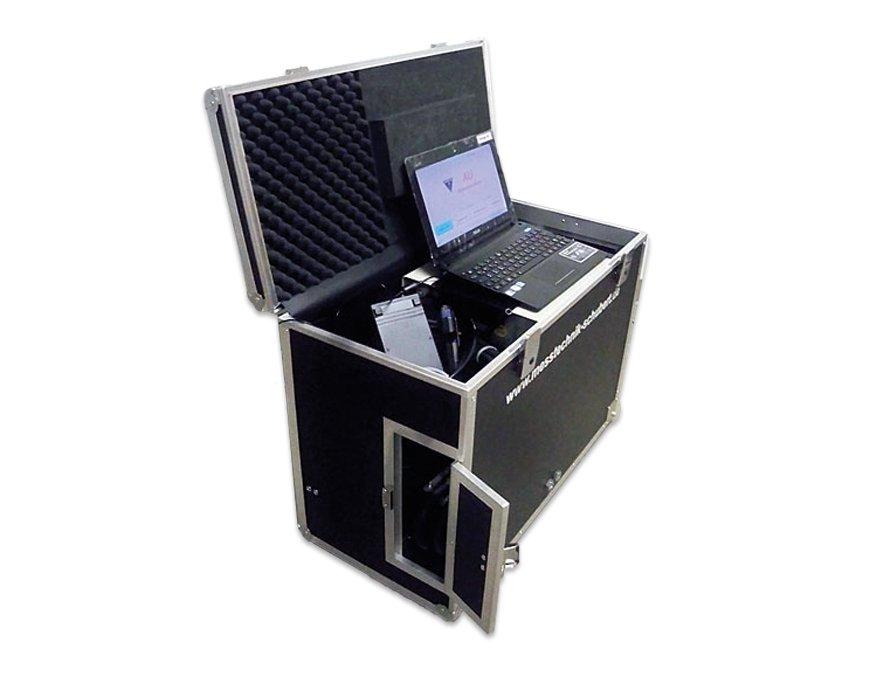 Transportkoffer für Abgasmessgerät