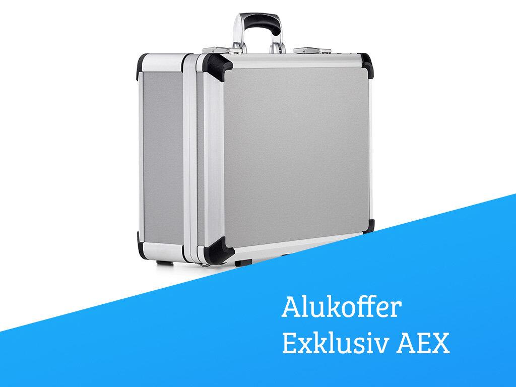 Aluminium-Rahmenkoffer Exklusiv AEX