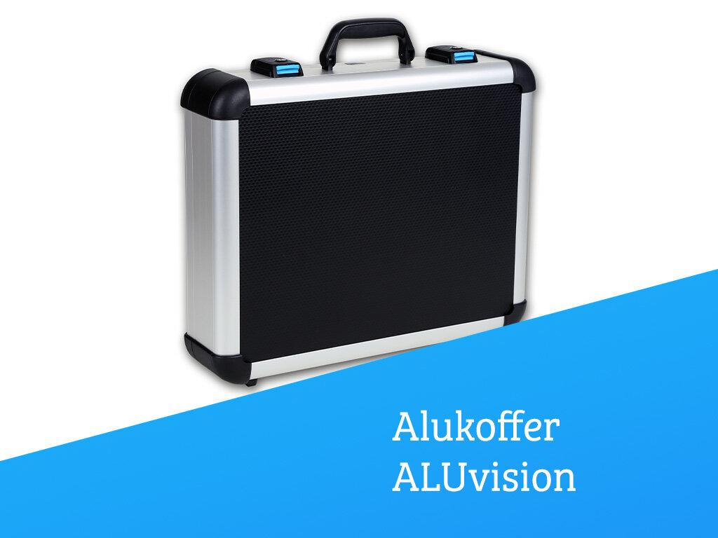 Aluminium-Rahmenkoffer ALUvision