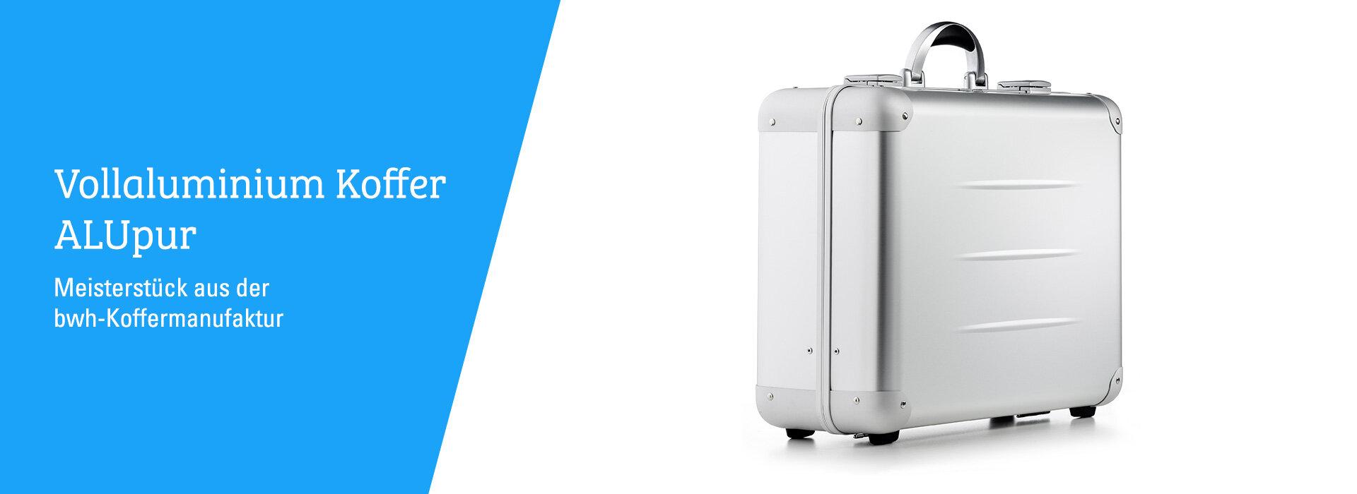 Vollaluminium Koffer ALUpur