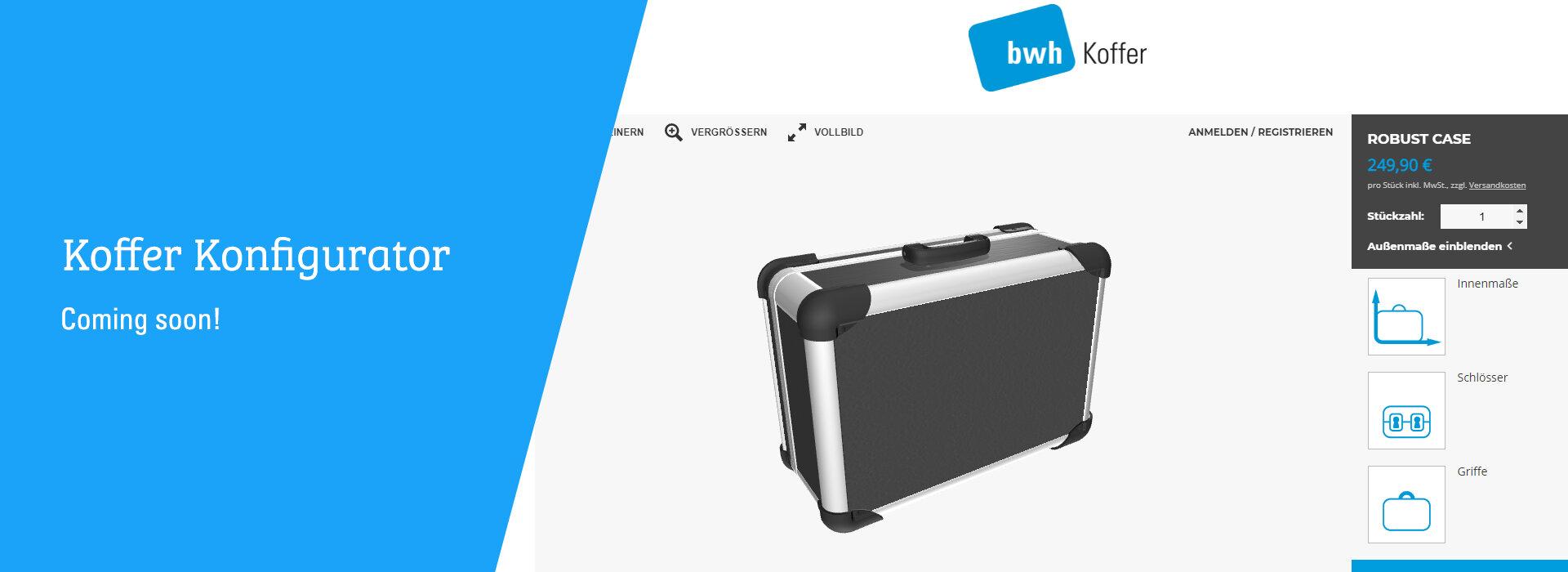 Koffer Konfigurator