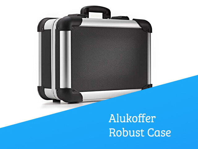 Aluminiumrahmen-Koffer Robust Case